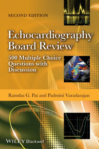 Echocardiography Board Review 500 Multiple Choice Questions with Discussion, 2E 2nd 2014 edition cover