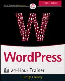 WordPress 24-Hour Trainer  3rd 2015 edition cover