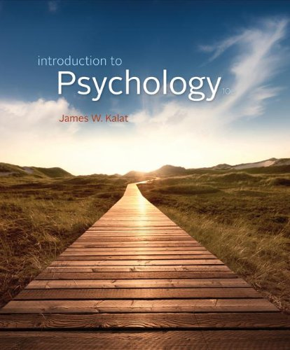 Introduction to Psychology:   2013 edition cover