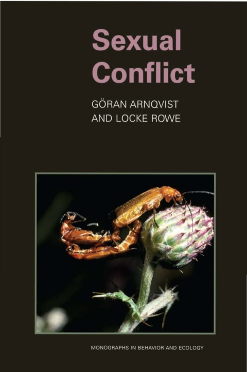 Sexual Conflict  N/A 9781400850600 Front Cover