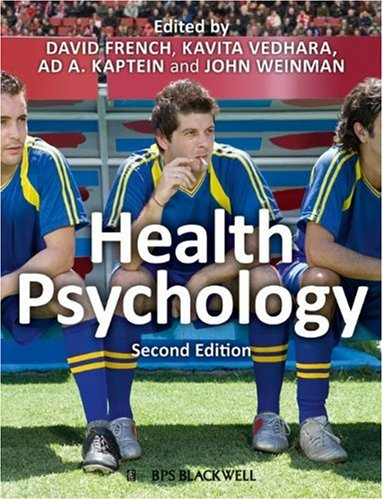Health Psychology  2nd 2010 9781405194600 Front Cover