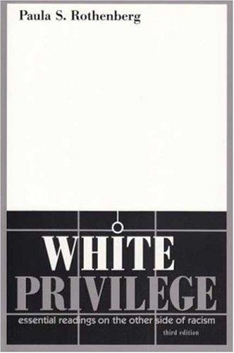 White Privilege  3rd 2008 edition cover