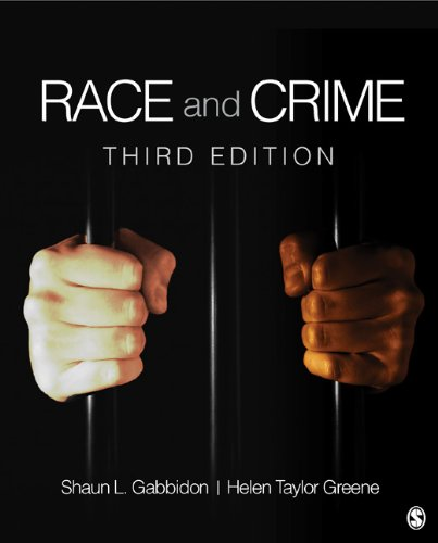 Race and Crime  3rd 2013 edition cover