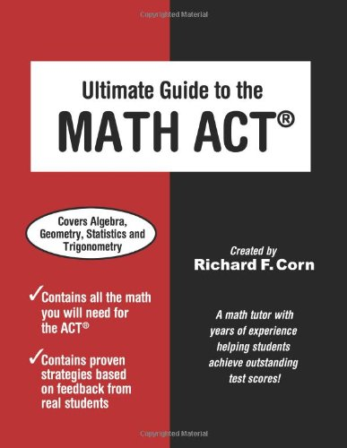 Ultimate Guide to the Math ACT  N/A edition cover