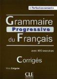 GRAMMAIRE PROGRESSIVE DU FRANCAIS       N/A 9782090353600 Front Cover