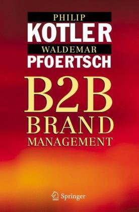 B2B Brand Management   2006 edition cover
