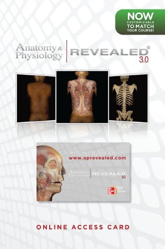Anatomy & Physiology Revealed 3.0 Online Access Code:  2011 edition cover