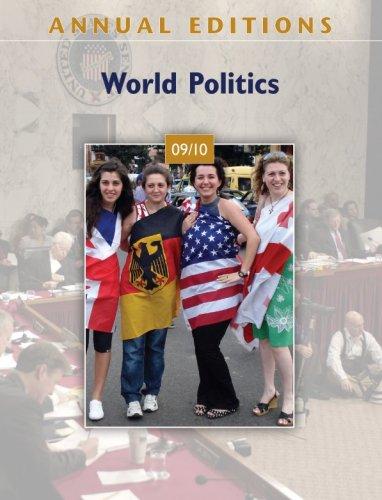World Politics 09/10  30th 2010 (Annual) edition cover