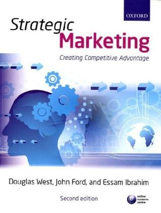 Strategic Marketing Creating Competitive Advantage 2nd 2010 edition cover