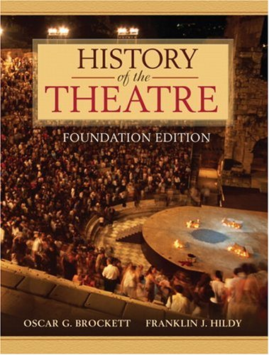 History of the Theatre   2007 (Brief Edition) edition cover