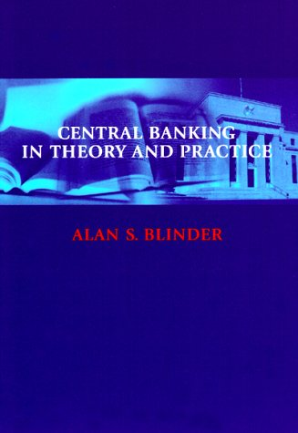 Central Banking in Theory and Practice   1999 (Reprint) edition cover