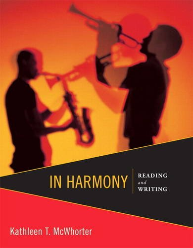 In Harmony Reading and Writing  2013 edition cover