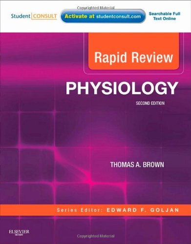 Rapid Review Physiology With STUDENT CONSULT Online Access 2nd 2011 edition cover