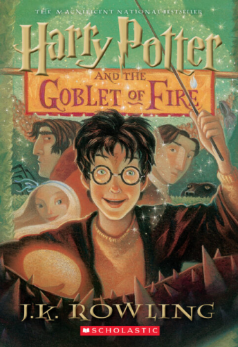 Harry Potter and the Goblet of Fire  N/A 9780439139601 Front Cover
