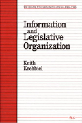 Information and Legislative Organization   1992 edition cover