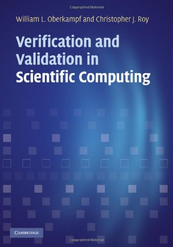 Verification and Validation in Scientific Computing   2010 edition cover