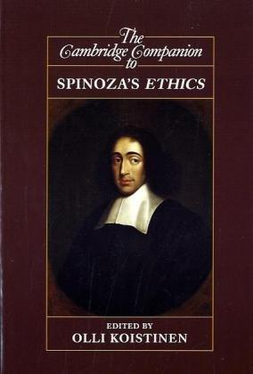 Cambridge Companion to Spinoza's Ethics   2010 9780521618601 Front Cover