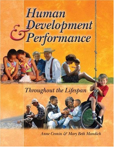 Human Development and Performance Throughout the Lifespan   2005 edition cover