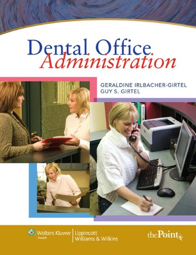 Dental Office Administration   2010 edition cover
