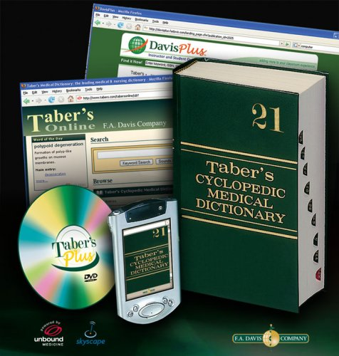 Taber's Cyclopedic Medical Dictionary  21st 2009 (Revised) edition cover