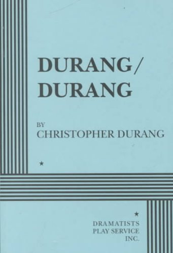 Durang, Durang And Other Short Plays N/A edition cover