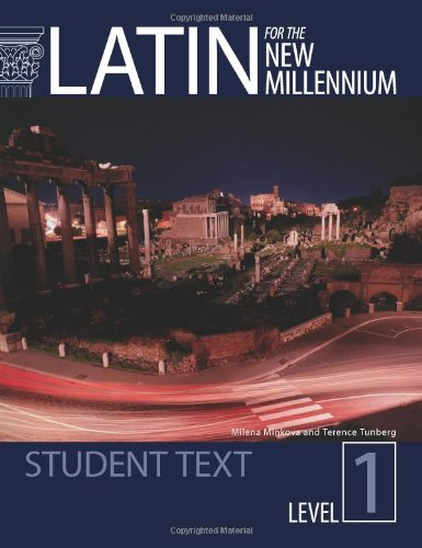 Latin for the New Millennium: Student Text - Level 1 1st (Student Manual, Study Guide, etc.) edition cover