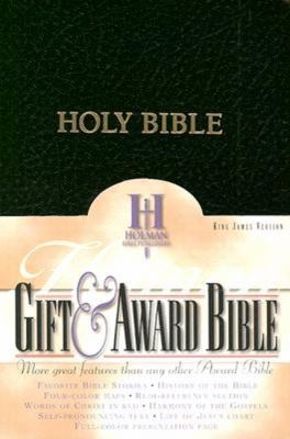 KJV Gift and Award Bible, Black Imitation Leather   1981 9780879814601 Front Cover