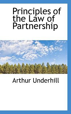 Principles of the Law of Partnership N/A 9781115366601 Front Cover