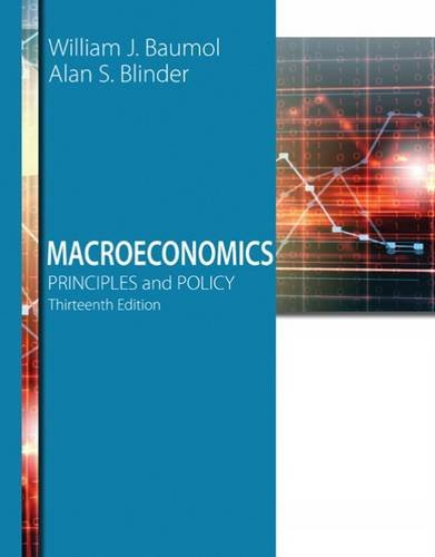 Macroeconomics: Principles and Policy 13th 2015 edition cover