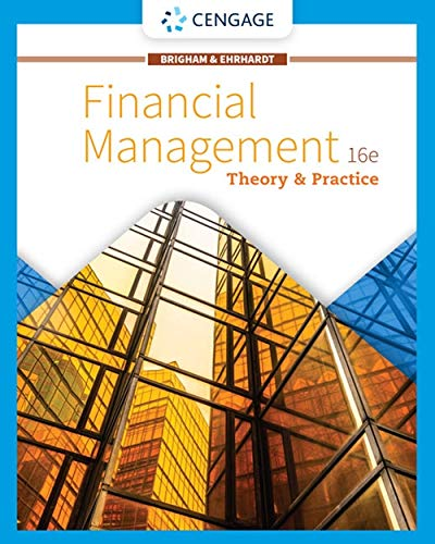 Financial Management Theory and Practice 16th 2020 (Revised) 9781337902601 Front Cover