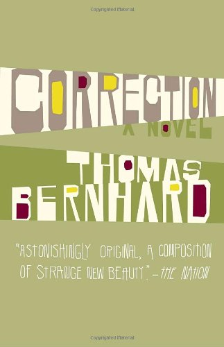 Correction A Novel N/A edition cover