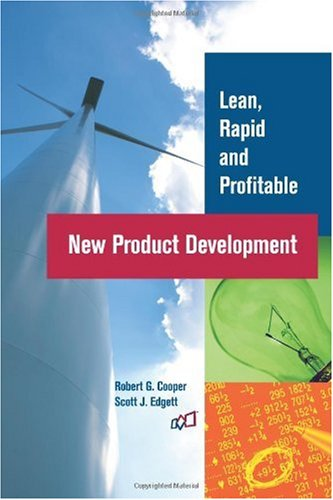Lean, Rapid and Profitable New Product Development  N/A edition cover