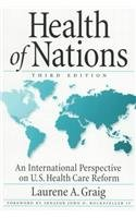 Health of Nations An International Perspective on U. S. Health Care Reform 3rd 1999 (Revised) edition cover