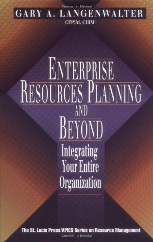 Enterprise Resources Planning and Beyond Integrating Your Entire Organization  2000 9781574442601 Front Cover