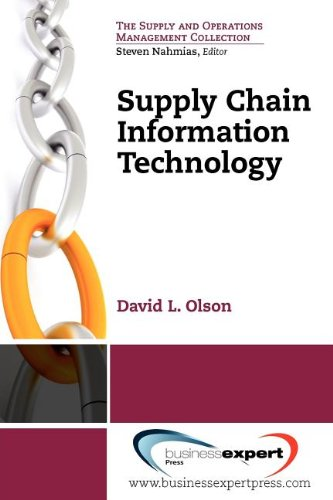 Supply Chain Information Technology  N/A 9781606493601 Front Cover