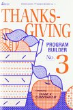 Thanksgiving Program Builder N/A edition cover