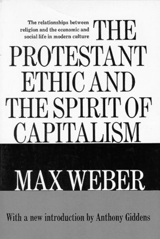 Protestant Ethic and the Spirit of Capitalism   1977 edition cover