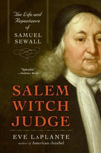 Salem Witch Judge The Life and Repentance of Samuel Sewall N/A edition cover