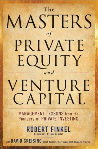 Masters of Private Equity and Venture Capital   2010 edition cover