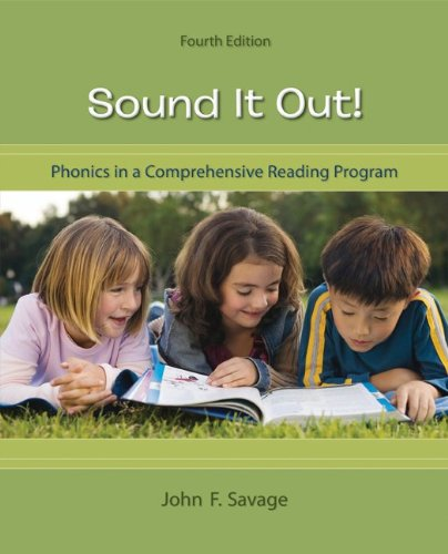 Sound It Out! Phonics in a Comprehensive Reading Program 4th 2011 edition cover