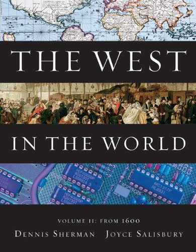 West in the World from 1600  4th 2011 edition cover