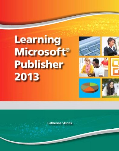 Learning Microsoft Publisher 2013   2014 (Student Manual, Study Guide, etc.) edition cover