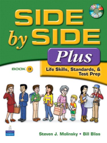 Value Pack Side by Side Plus 3 Student Book and Activity and Test Prep Workbook 3 3rd 2008 9780135087602 Front Cover