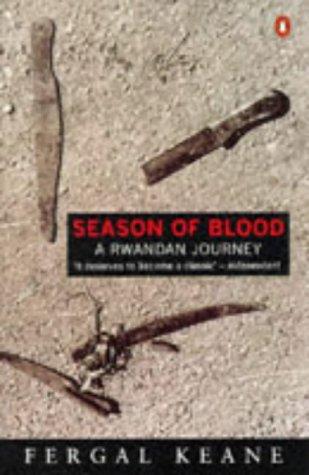 Season of Blood A Rwandan Journey  1995 edition cover