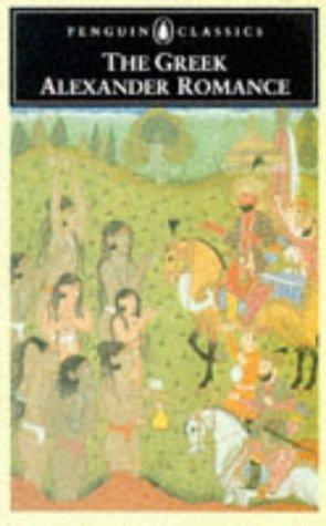Greek Alexander Romance   1991 edition cover