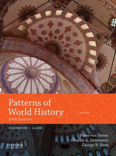 Cover art for Patterns of World History, Volume One: To 1600 with Sources, 3rd Edition