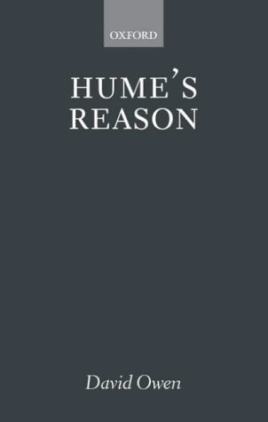 Hume's Reason   2002 9780199252602 Front Cover
