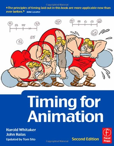 Timing for Animation  2nd 2009 (Revised) edition cover