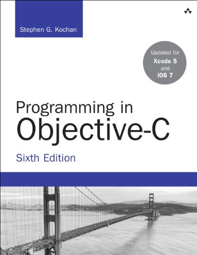 Programming in Objective-C  6th 2014 edition cover