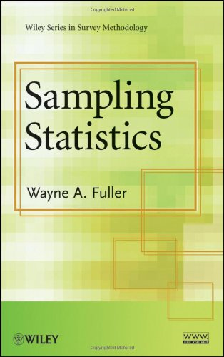 Sampling Statistics   2009 9780470454602 Front Cover